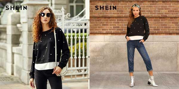 Comprar Suéter para mujer SHEIN chollo en AliExpress Plaza