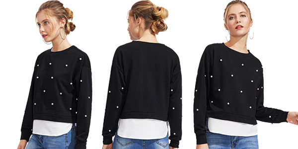 Comprar Suéter para mujer Shein chollazo en AliExpress Plaza