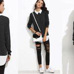 Jersey Shein de estilo casual para mujer al mejor precio