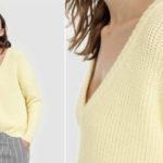 Jersey de punto UNIT de manga larga para mujer barato en AliExpress