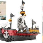Juego Barco pirata para montar de 780 piezas barato en AliExpress