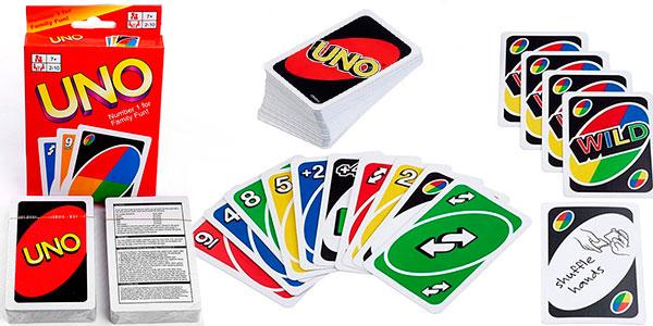 Juego de cartas Uno barato