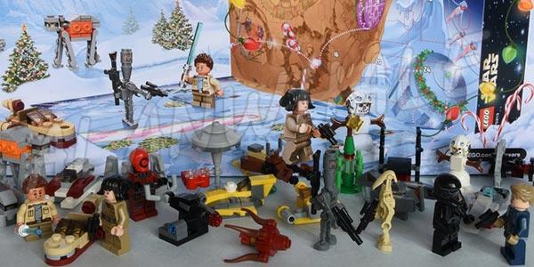 Calendario de Adviento Star Wars tipo LEGO chollo en AliExpress
