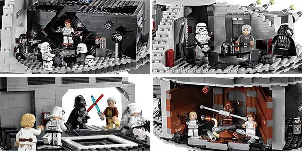 Estrella de la Muerte tipo LEGO en AliExpress