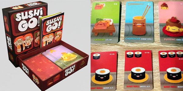 Juego de cartas Sushi Go! barato