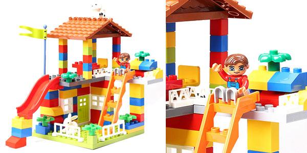 Juego de bloques de construcción casa estilo Duplo chollo en AliExpress