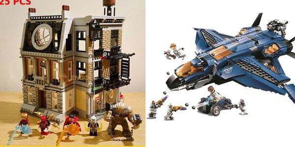 Torre de Los Vengadores estilo LEGO chollazo en AliExpress