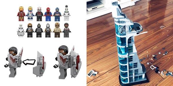 Torre de Los Vengadores estilo LEGO chollo en AliExpress