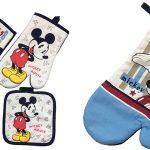 Juego Manopla de horno + agarradera Mickey Mouse barato en AliExpress