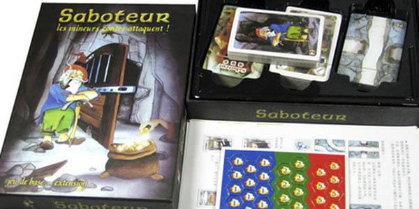 Juego de mesa Saboteur + expansión