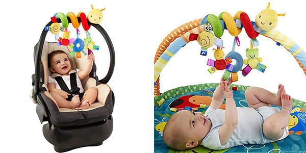 Juguete móvil para carrito y hamaca de bebé rebajado