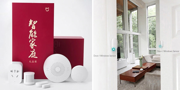 Set domótica Smart Home Xiaomi Mijia chollo en DHGate