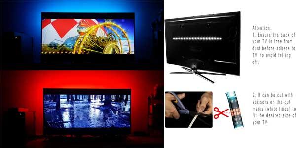Kit de iluminación LED para televisor barato