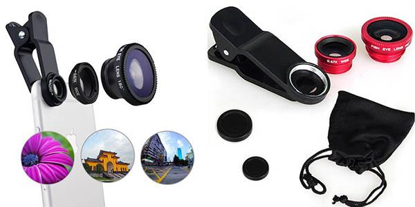 Kit lentes para smartphone baratas