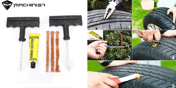 Kit de reparación de neumáticos de 6 piezas barato en AliExpress