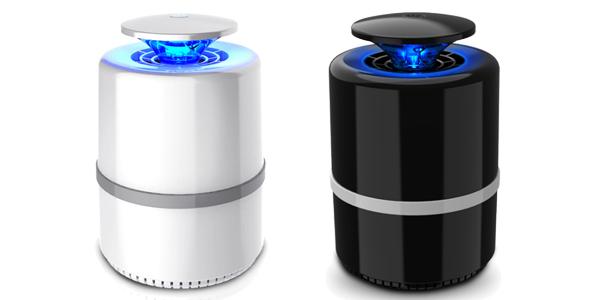 Lámpara atrapa-mosquitos por USB