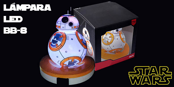 Lámpara LED decorativa BB-8 Star Wars