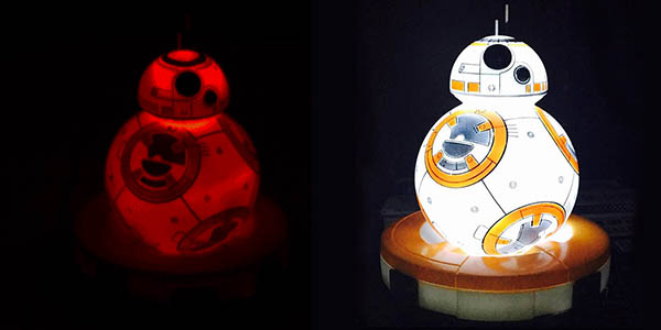 Lämpara LED BB-8 barata