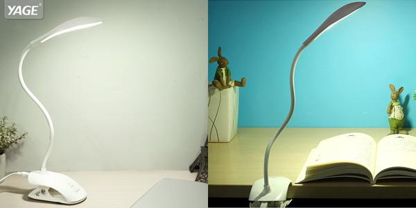 Lámpara de escritorio USB YAGÉ barata en AliExpress