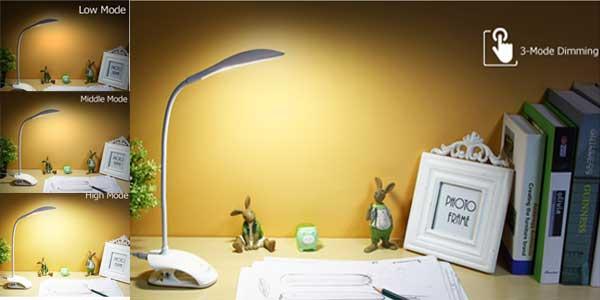 Lámpara de escritorio USB YAGÉ oferta en AliExpress