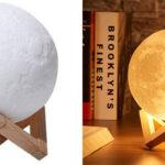 Lámpara LED decorativa Luna