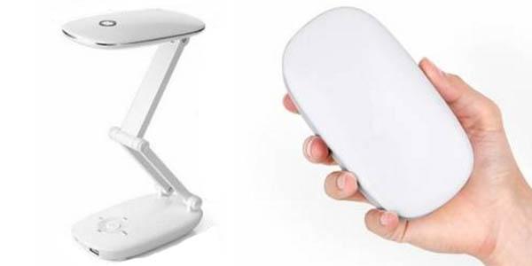 Lámpara LED plegable y recargable USB