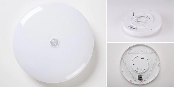 Plafón LED con sensor de movimiento chollo en AliExpress
