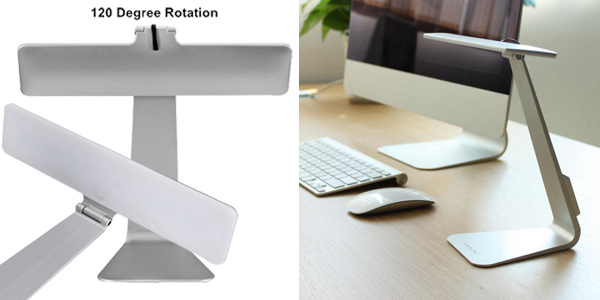 Lámpara de escritorio LED con batería chollo en Banggood