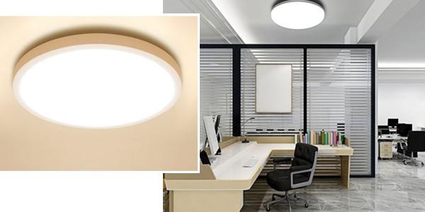Lámpara de techo LED ultrafina con envío desde España chollazo en AliExpress