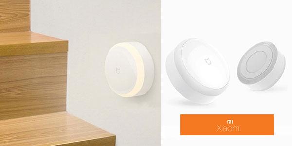 Lámpara Xiaomi MiJIA IR Night Light de color blanco rebajada