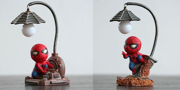 Chollo Lamparita LED de Spider-Man en 2 modelos