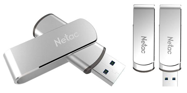 Pendrive Netac U388 de 128 GB barato en Zapals