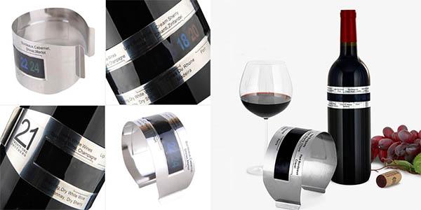 LCD termómetro vino