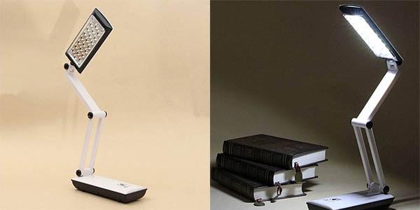 Lámpara LED plegable con batería