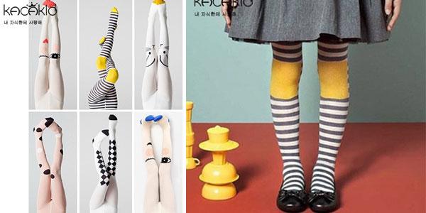Leotardos infantiles con divertidos diseños baratos en AliExpress