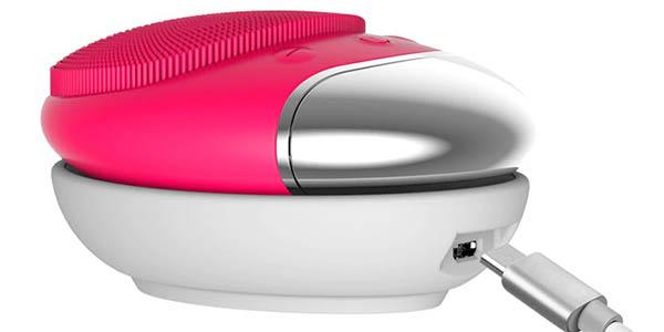 Limpiador facial eléctrico tipo FOREO