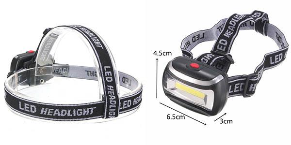 Frontal LED de 600 lumens