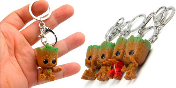 Selección de llaveros Baby Groot Marvel baratos