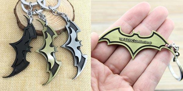 Llavero Batarang Batman barato en AliExpress