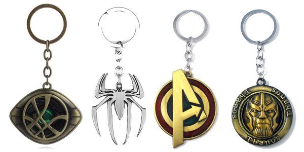 Llaveros de los Vengadores de Marvel baratos en AliExpress