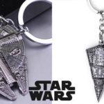 Llaveros metálicos de Star Wars
