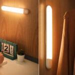 Luz LED Baseus con sensor de movimento para armario barato en BangGood