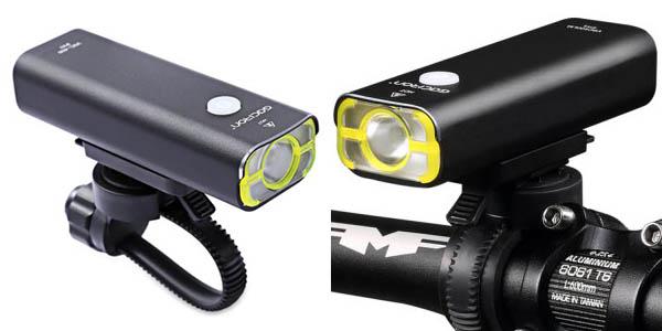 Luz LED delantera bicicleta