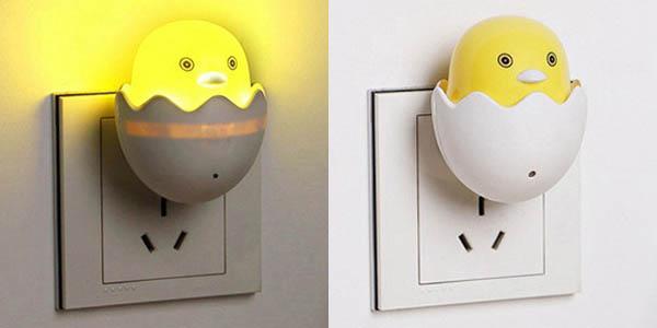 Luz LED nocturna con sensor de movimiento