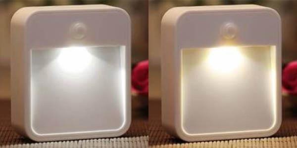Luz LED nocturna blanca o cálida