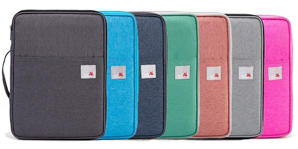 Bolsa de mano para portátil, tablet y documentos barata en AliExpress