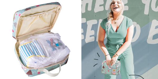 Bolsa portapañales con múltiples compartimentos chollo en AliExpress