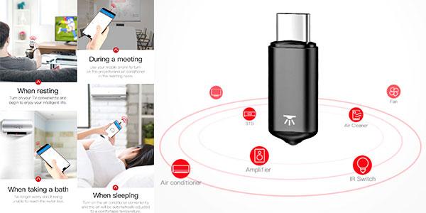 Mando a distancia IR Baseus para smartphone barato