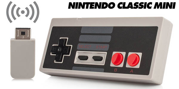 Mando inalámbrico Nintendo Classic Mini