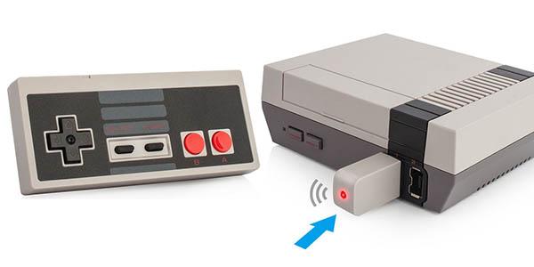Mando inalámbrico para Nintendo NES Mini